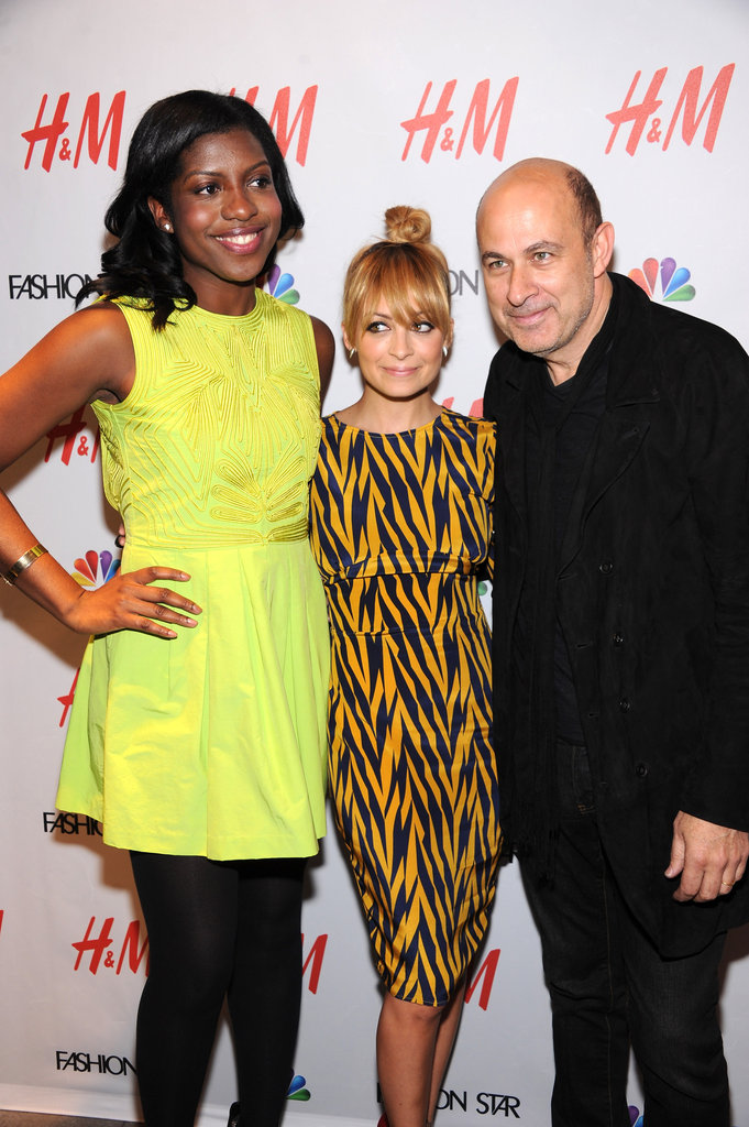 Nicole Richie and John Varvatos posed together with H&M buyer Nicole Christie.