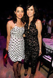 Funny ladies Aubrey Plaza and Kristen Wiig got together at the Time 100 gala in NYC.
