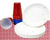 Not-So-Disposable Plates and Cups