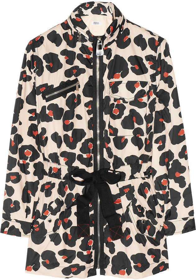 Show your wild side in this animal-print shell.  Sonia by Sonia Rykiel Leopard-Print Jacket ($380)