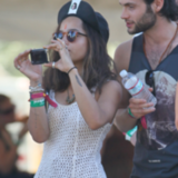 Festival Fashion from Kristen Stewart, Rosie Huntington-Whiteley, Zoe Kravitz & More at Coachella 2012
