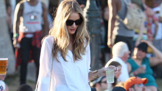 Summer Style Inspiration From Rosie Huntington-Whiteley and Kristen Stewart at Coachella!