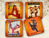 Channel some old-school charm with these colorful Mexico Coasters ($10 for four), which feature vintage Mexico travel ads.