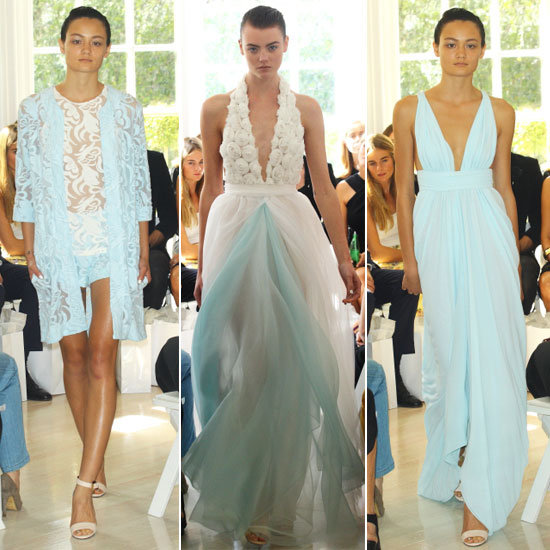 Review and Pictures of Carla Zampatti Spring Summer 2012-13 Mercedes Benz Fashion Week Runway Show