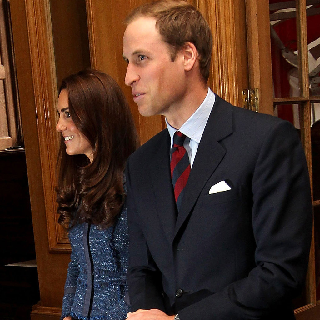 Kate Middleton and Prince William together ahead of their anniversary.