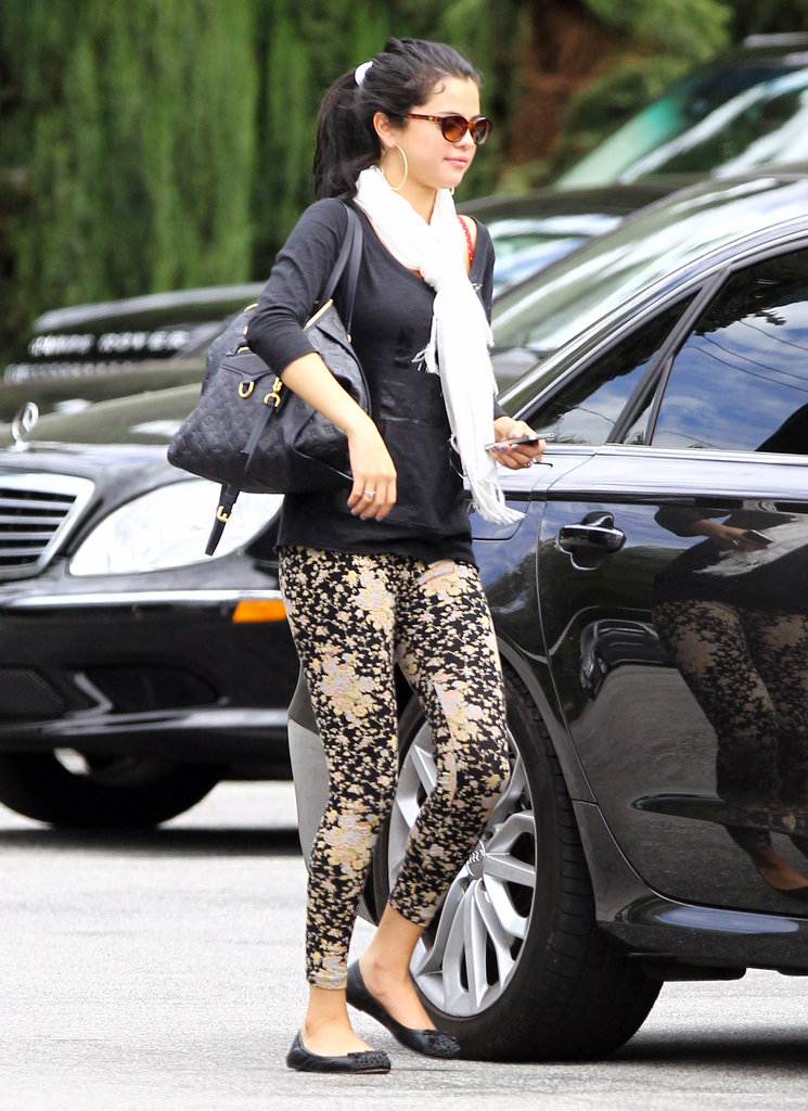Selena Gomez left lunch with her mom in LA.