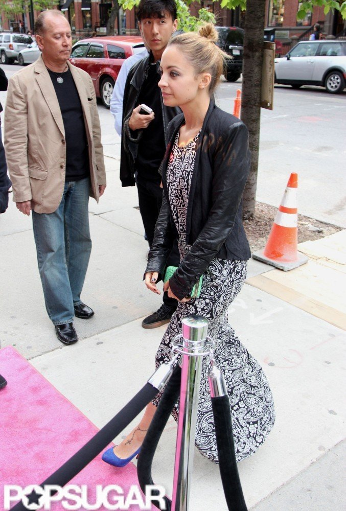 Nicole Richie in Boston.
