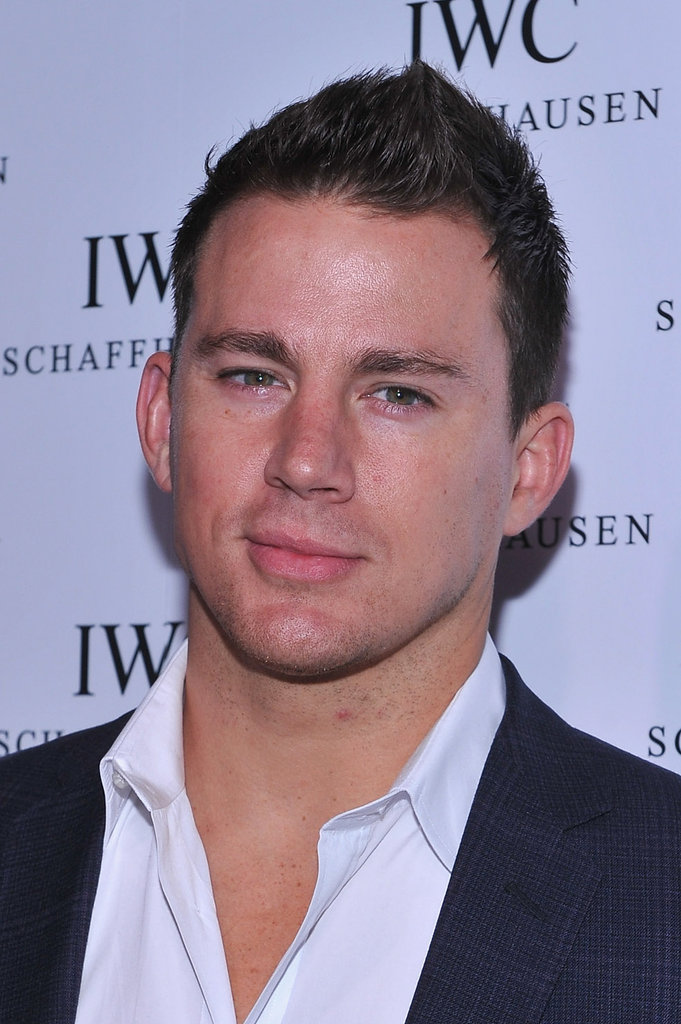 Channing Tatum went to the IWC Schaffhausen boutique opening.