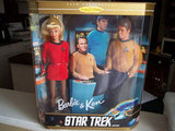 Star Trek Barbie & Ken ($35) would make a fun and kitschy wedding topper.