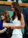 If you need a convincing argument for structured Summer whites, Kate proved that a fit-and-flare silhouette is supercute at Wimbledon in June 2011.