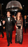 The Duke and Duchess of Cambridge were together in January for the War Horse premiere in London. Kate looked absolutely regal in a lacy floor-length Alice Temperley dress.