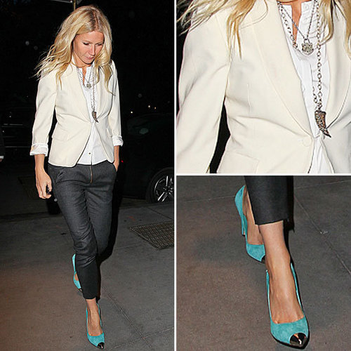 Celeb Style: Gwyneth Paltrow Shows Off Spring's Hottest Heels