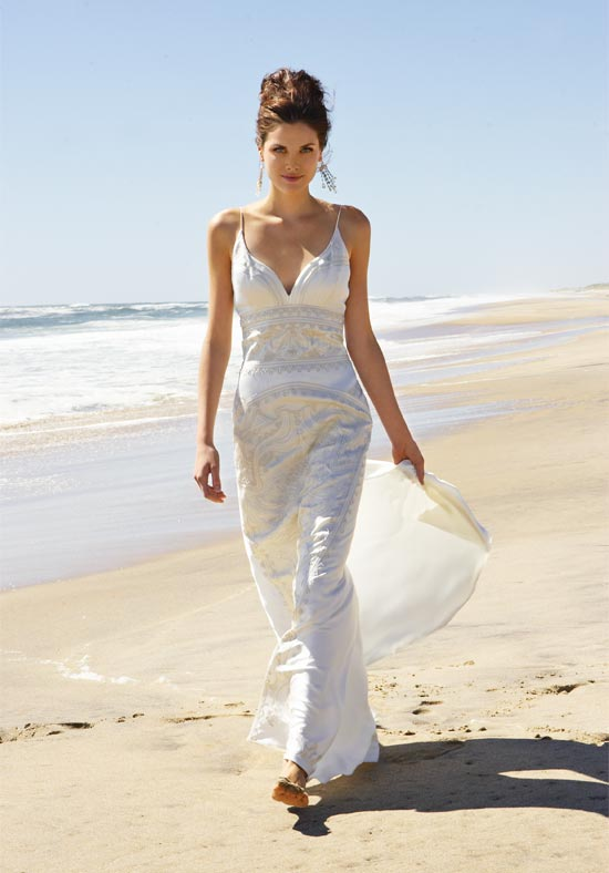 summer beach wedding dresses