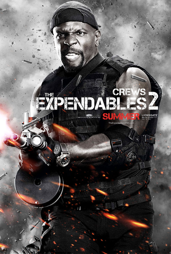 Terry Crews as Hale Caesar in The Expendables 2.