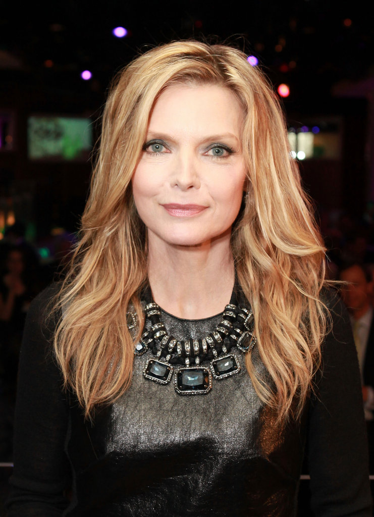 Michelle Pfeiffer was awarded the cinema icon award at the CinemaCon awards ceremony.