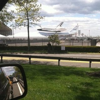 Space Shuttle Enterprise New York City Pictures