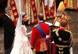 Will and Kate greeted each other at the altar.