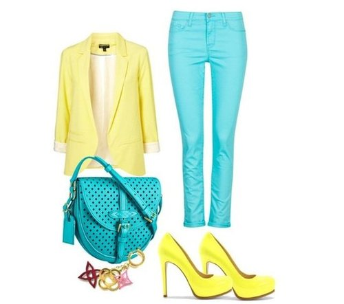 Fab Stylist Challenge: Strong Colors For The Summer