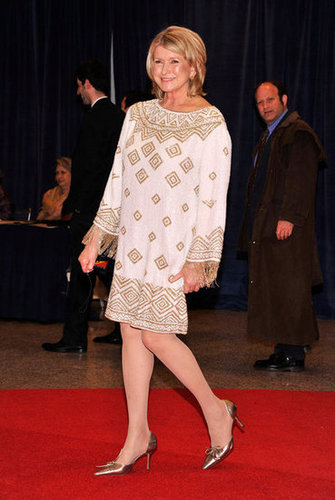 Martha Stewart walked the carpet at the White House Correspondant's Dinner.