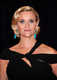 Reese Witherspoon was gorgeous in black at the White House Correspondant's Dinner.