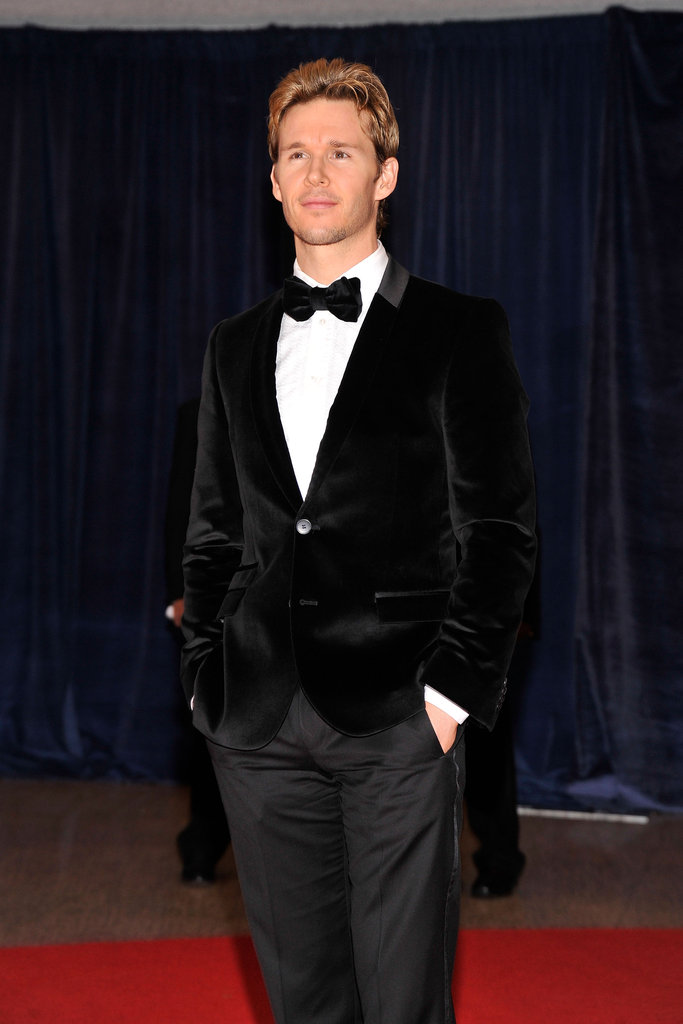Ryan Kwanten looked handsome in a tux.