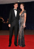 Ivanka Trump posed with her husband at the White House Correspondant's Dinner.