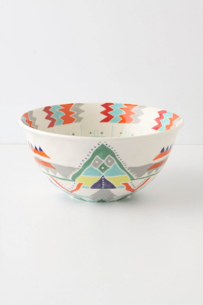 The Berino Serving Bowl ($28) is made from stoneware and comes in bright colors.