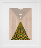 """Hallway, Grand Rapids, MI"" ($24 and up, depending on size) by Carolyn Swiszcz was inspired by a hallway from the Homewood Suites in Grand Rapids, MI."