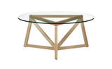 The P7 Table ($300) is a new architectural geometric design from Jonas Wahlstrom that was inspired by his kid's peace-themed homework assignment.