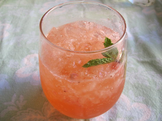Strawberry and Tequila Cocktail