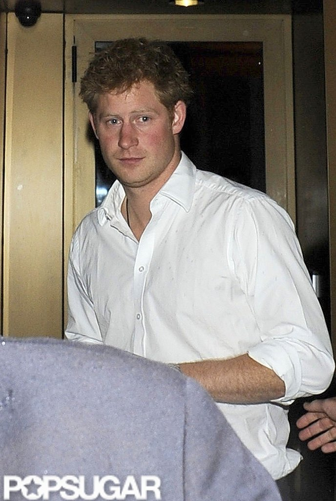 Prince Harry had a night out in London.