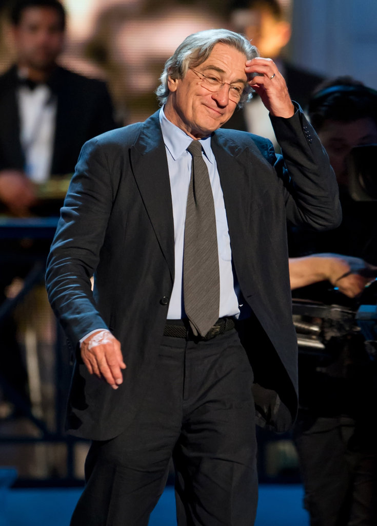 Robert De Niro was on stage at the Comedy Awards in NYC.