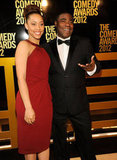 Tracy Morgan arrived at the Comedy Awards in NYC.