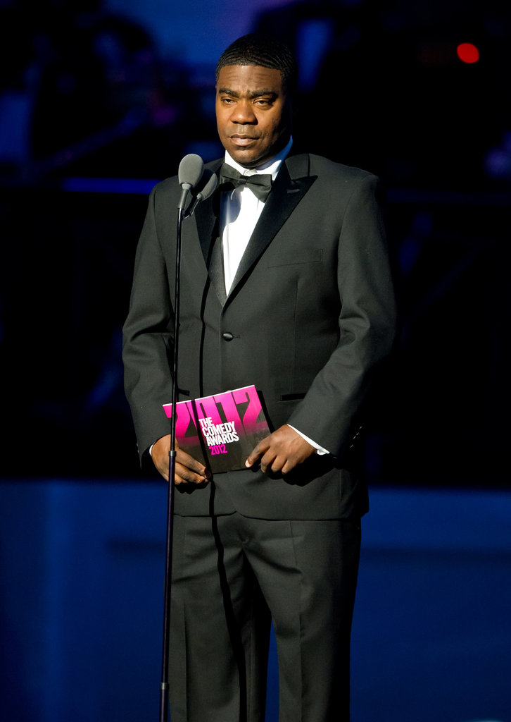 Tracy Morgan presented on stage at at the Comedy Awards in NYC.