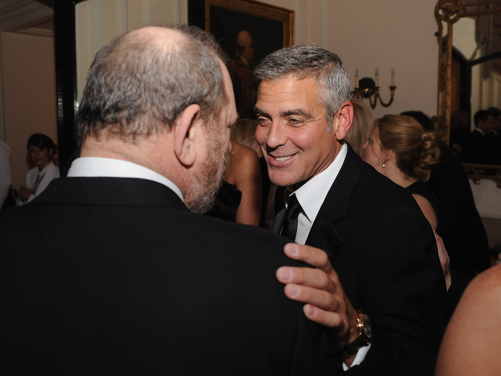 George Clooney caught up with friends at the White House Correspondant's Dinner.
