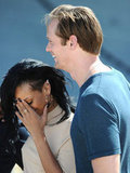 Alexander Skarsgard had Rihanna in stitches.