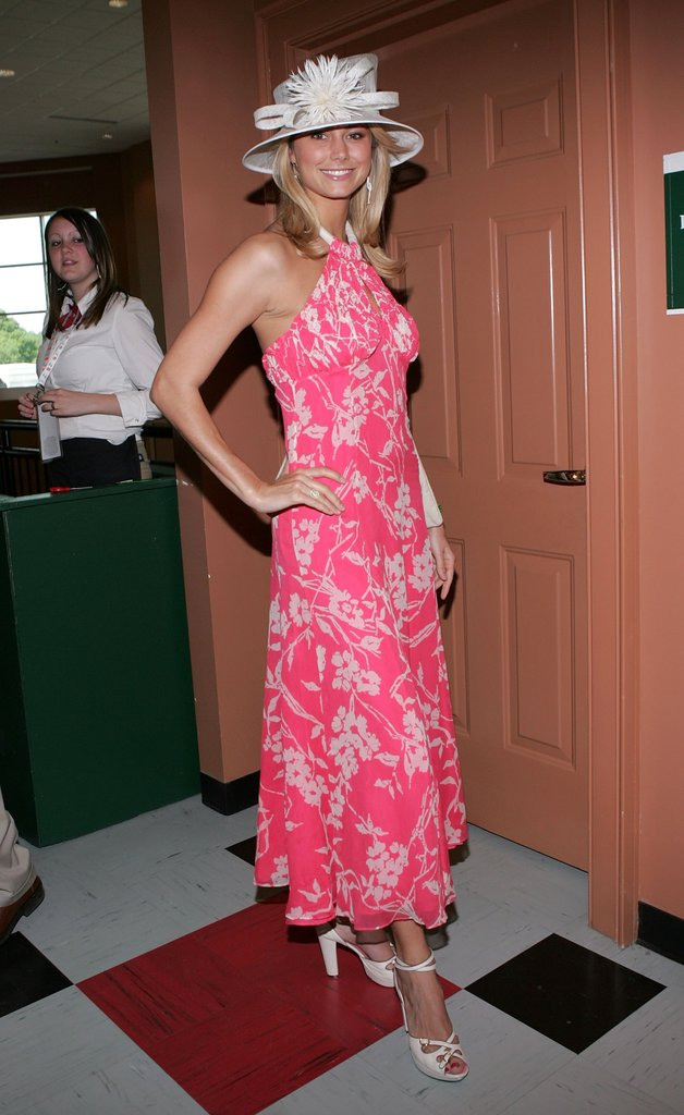 Before she became George Clooney's girlfriend, Stacy Keibler checked out the 2006 Kentucky Derby.