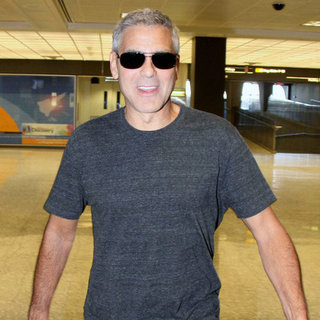 George Clooney After White House Dinner Pictures