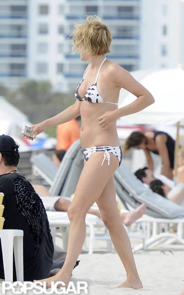 Chloë Sevigny Spends a Miami Beach Day in Her Bikini With Friends