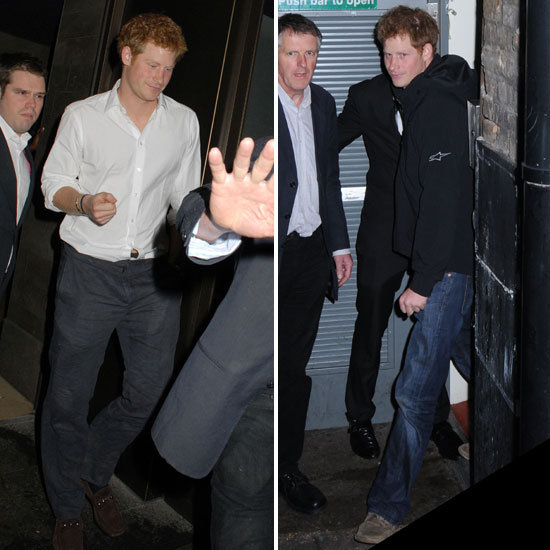 Prince Harry Hits the Town Twice in One Weekend