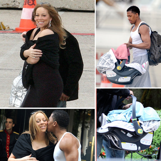 Mariah Carey and Nick Cannon Wrap Up Their Anniversary Getaway With Roc and Roe