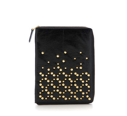 Be&D Black Studded iPad Case ($220, on sale for $110)