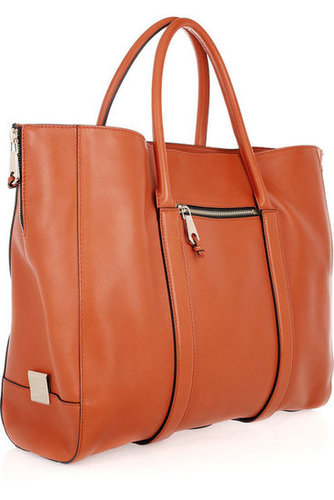 Chlo|Madeleine leather tote|NET-A-PORTER.COM
