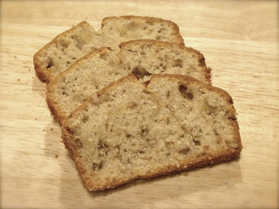 Banana, Pear & Walnut Loaf by Zesty Baking