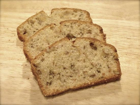 Banana, Pear & Walnut Loaf by Zesty Baking