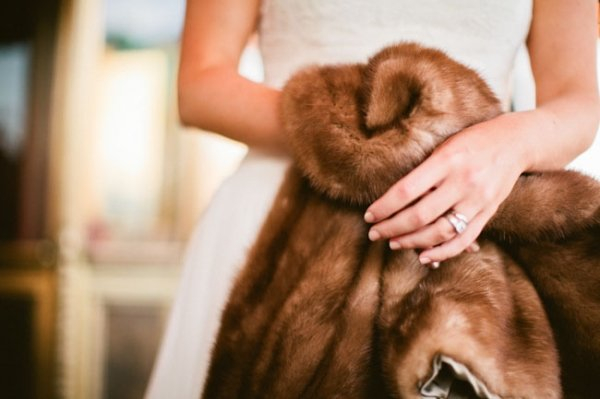 A Fur Coat For the Bride