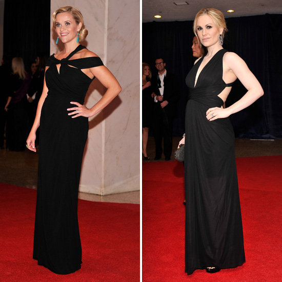 Reese Witherspoon and Anna Paquin Debut Their Baby Bumps at White House Correspondents' Dinner
