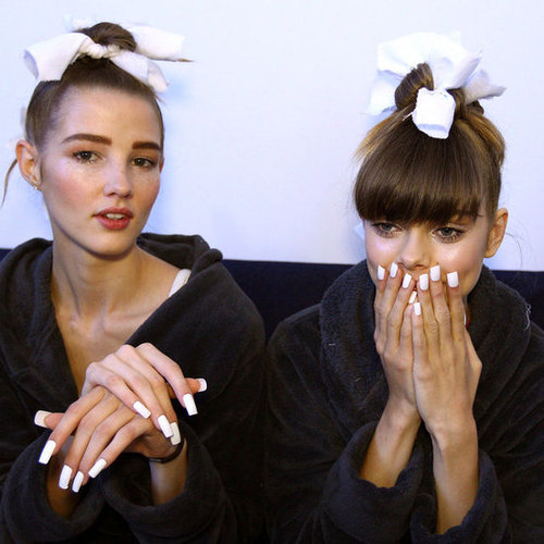 Backtage Beauty Report From Zimmermann 2012 2013 Spring Summer MBFWA