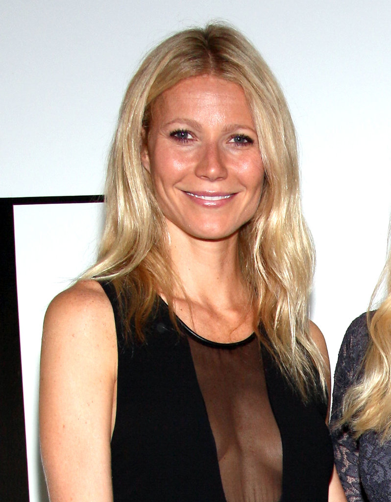 Gwyneth Helps Kick Off The Conversation With Amanda de Cadenet