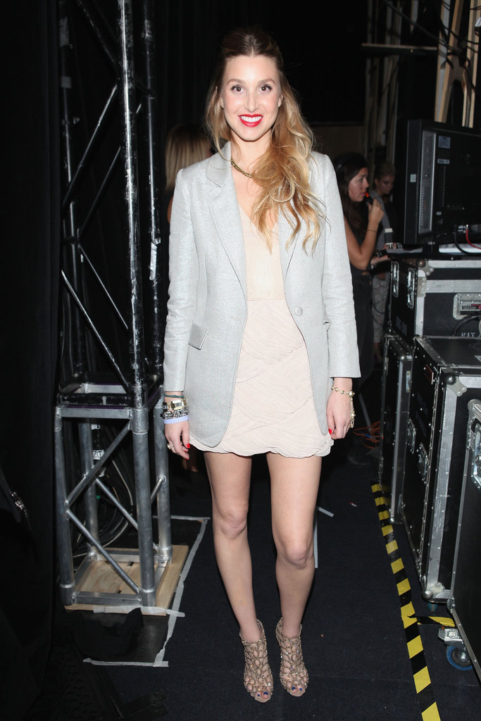 Whitney Port at Whitney Eve